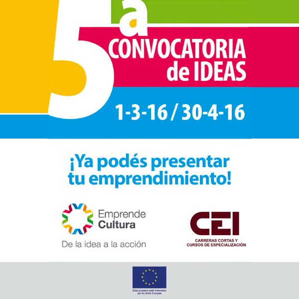 5ª Convocatoria de Ideas